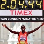 Wilson Kipsang Maratón Londres