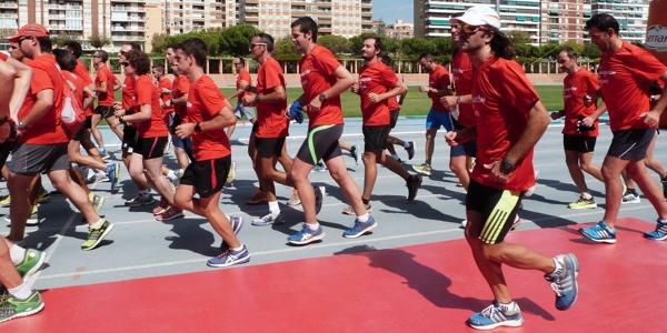 al maratón con Serrano