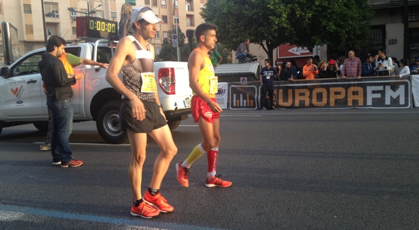 Nacho Cáceres Medio Maratón Valencia