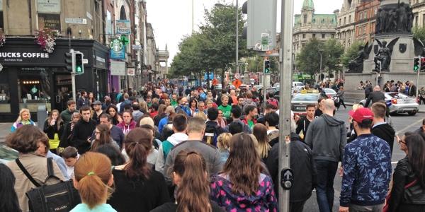 RunManiac en Dublín
